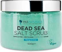 PraNaturals Scrub Corpo Con Sali Del Mar Morto 500g