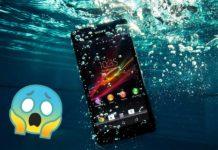 Telefono caduto in acqua, cosa fare?