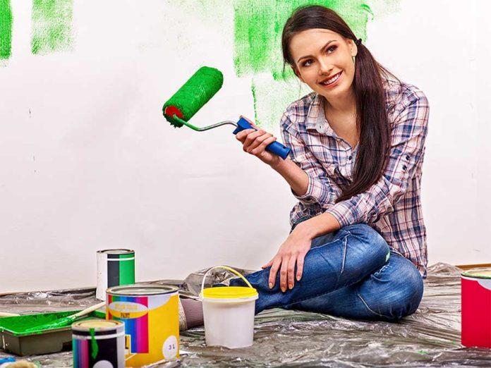 Come pitturare casa