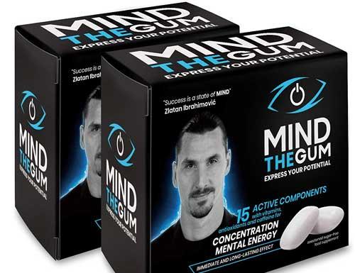 MIND THE GUM - Integratore per Concentrazione ed Energia Mentale